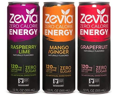 Zero calorie energy drink Zevia