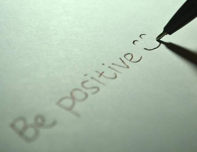 Have a positive attitude